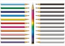 Colorez le crayon Images stock