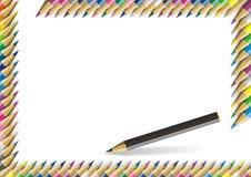 Colorez le crayon Photographie stock