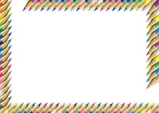 Colorez le crayon Image libre de droits