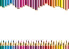 Colorez le crayon Photos libres de droits