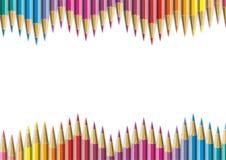 Colorez le crayon Photographie stock libre de droits