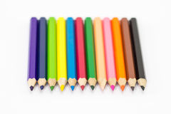 Colorez le crayon Images stock