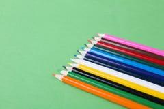 Colorez le crayon Photos stock