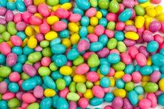 Colorez le fond d'haricots de sucreries Photographie stock