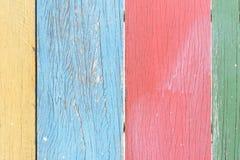 Colorez le fond en bois Photos libres de droits