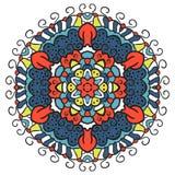 Colorez le mandala Photographie stock libre de droits