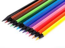 Colorez les crayons Image libre de droits