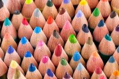 Colorez les crayons Photographie stock