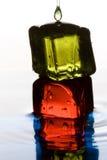 Colorez les cubes Photos libres de droits