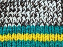 Colorez les laines Images libres de droits