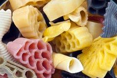 Colorez les pâtes Photographie stock