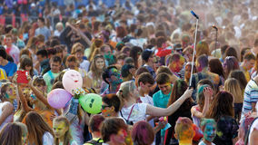 ColorFest - Festival von Farben Stockbild