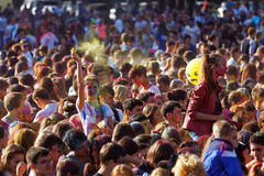 ColorFest-Festival von Farben Lizenzfreies Stockbild