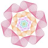 Colorfual-Zusammenfassungshintergrund EPS10 Lizenzfreies Stockbild