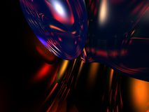 Colorful 3D Abstract Backgroun stock photo