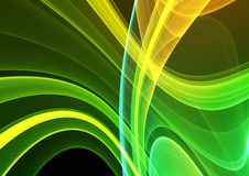 Colorful 3D abstract background Royalty Free Stock Image