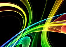 Colorful 3D abstract background. (fantasy,abstract background Royalty Free Stock Photos