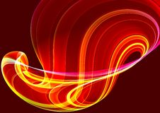Colorful 3D abstract background Stock Photo