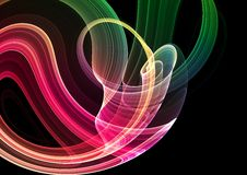 Colorful 3D abstract background. (fantasy,abstract background Stock Images