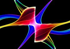 Colorful 3D abstract background Royalty Free Stock Photo