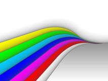 Colorful 3ds lines,  background Stock Photo