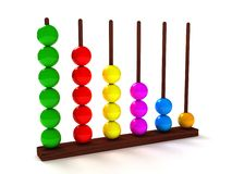 Colorful abacus Royalty Free Stock Image