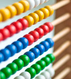 Colorful abacus Stock Image