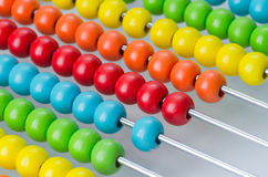 Colorful abacus Stock Photography