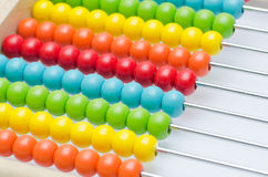 Colorful abacus Royalty Free Stock Photography