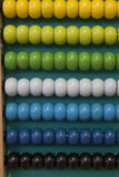 Colorful Abacus counting frame. Stock Images