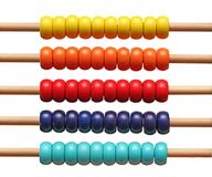 Colorful abacus detail Stock Images