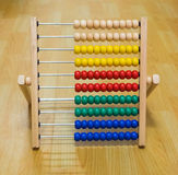 Colorful abacus toy for kids Royalty Free Stock Photo