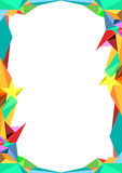 Colorful Abstact Background. Colorful polygon  abstract background Royalty Free Stock Image