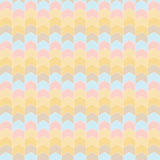 Colorful abstract arrow pattern background. Illustration Stock Image