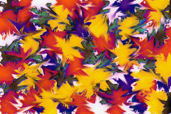 Colorful abstract art background with texture Stock Photography