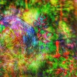 Colorful abstract art. Digital art picture for background made within photos Stock Images