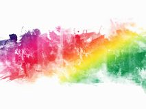 Colorful Abstract Artistic Watercolor. Beautiful Colorful Abstract Artistic Watercolor Stock Image