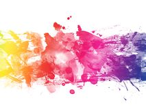 Free Colorful Abstract Artistic Watercolor Paint Background Royalty Free Stock Photography - 152090497