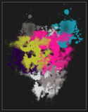 Colorful abstract background. An illustration of colorful abstract background Stock Photography