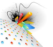Colorful abstract background Royalty Free Stock Photos