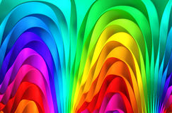 Colorful abstract background. 3d illustration Stock Photos