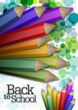 Colorful abstract background. For brochures and booklets Royalty Free Stock Photography