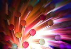Colorful abstract background. (shallow DoF Stock Photography