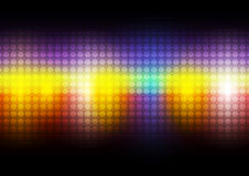 Colorful abstract background. Dot and colorful abstract background stock illustration