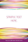 Colorful abstract background. Good for memo or as a gift card Royalty Free Stock Image
