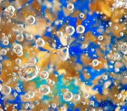 Colorful abstract background. With bubbles Royalty Free Stock Photography