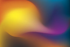 Colorful abstract background. A bright and colorful abstract organic computer rendering, suitable for a nice background Royalty Free Stock Image