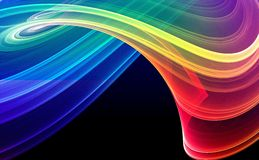 Colorful abstract background. Colorful 3d rendered background (fantasy,abstract background Stock Photo
