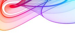 Colorful abstract background. Colorful 3d rendered background on a white background Royalty Free Stock Photography