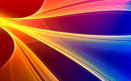 Colorful abstract background. Colorful 3d rendered background (fantasy,abstract background Stock Photos